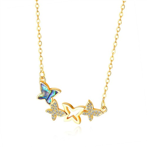 Butterfly necklace gb0619715-1