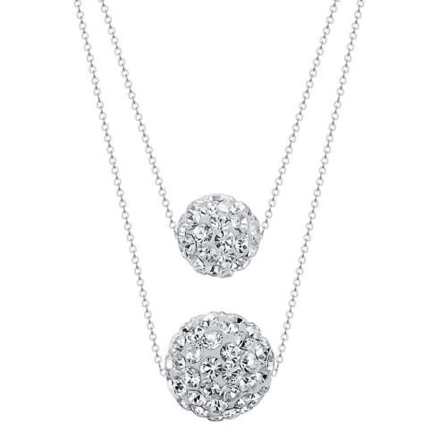 silver necklace MLA450