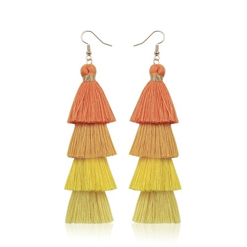 Long tassel earrings ME68123-8