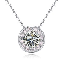 silver necklace 22537