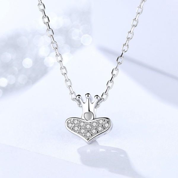 silver necklace MLA1194
