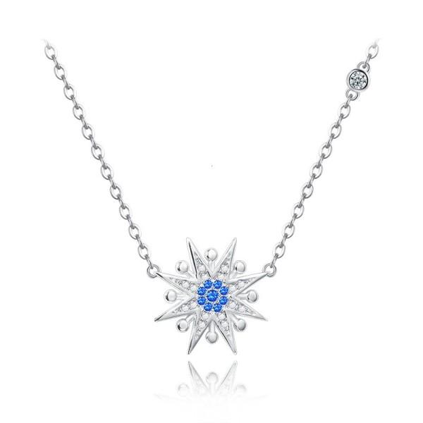 silver necklace MLA602