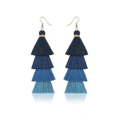 Long tassel earrings ME68123-6