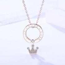 silver necklace MLA364-2