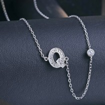 silver necklace MLA622Q