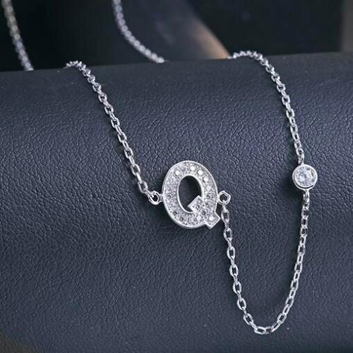 silver necklace MLA622Q