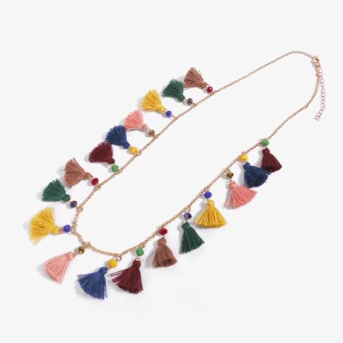 Tassel necklace MN70151-1