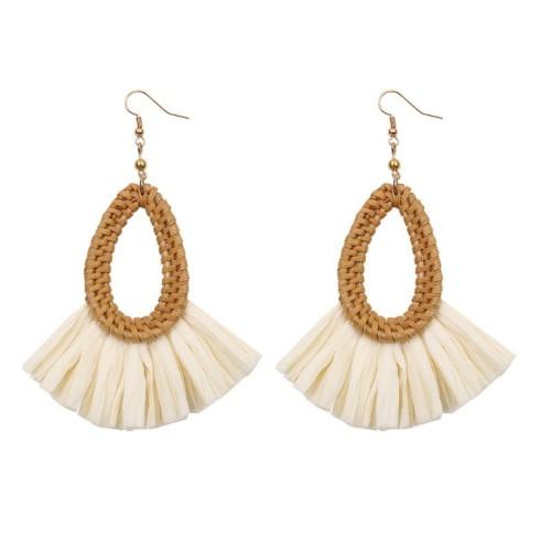 Rattan Lafite Earrings ME68453
