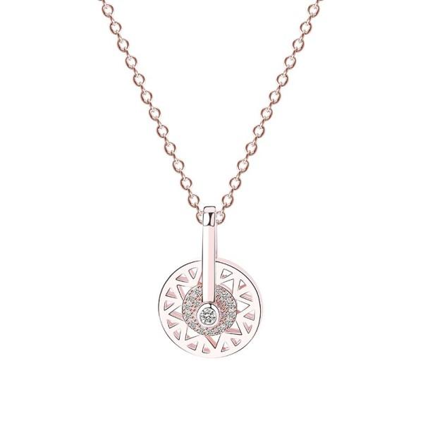 silver necklace MLA027