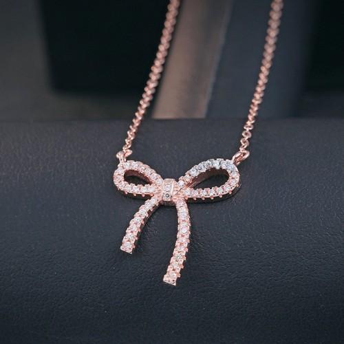 silver necklace MLA594a