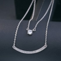 silver necklace MLA370