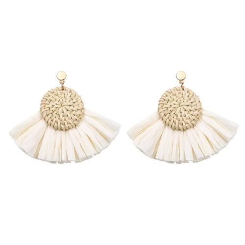 Round tassel earrings ME68445