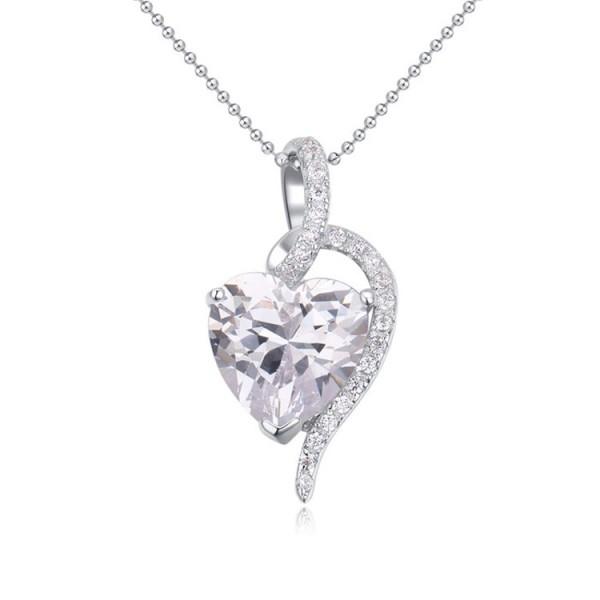 silver necklace 22294