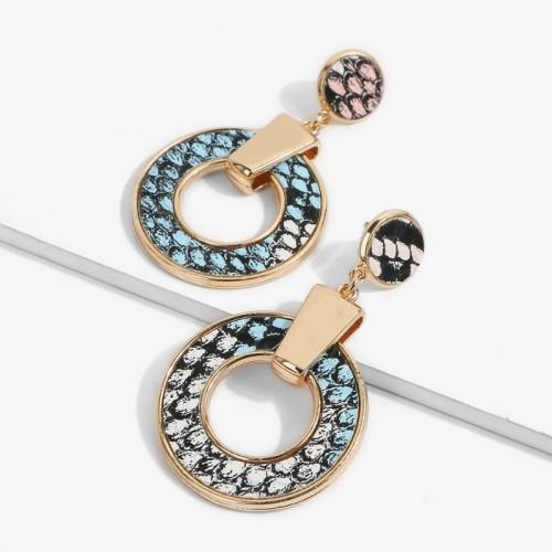 Big circle earrings ME68560