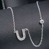 silver necklace MLA622U