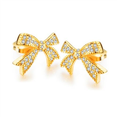 Bow earrings gb0619023-1
