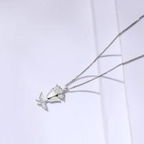 silver necklace MLA1671-1