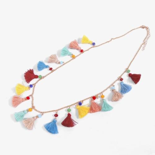 Tassel necklace MN70151
