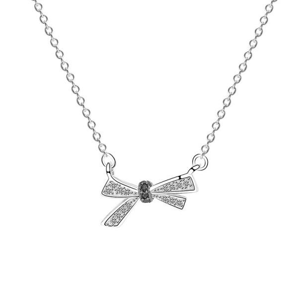 silver necklace MLA354