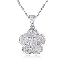silver necklace 22538