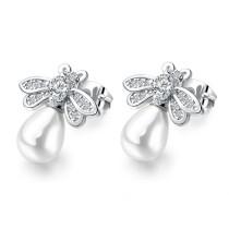 Bee pearl earrings gb0619024
