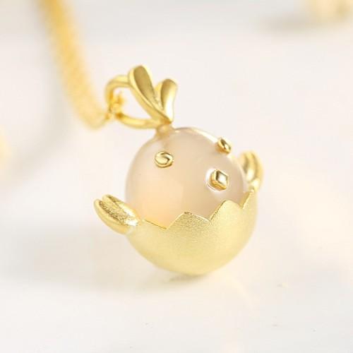 silver necklace MLA733a