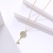 silver necklace MLA1675-1