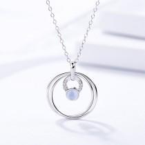 silver necklace MLA1119