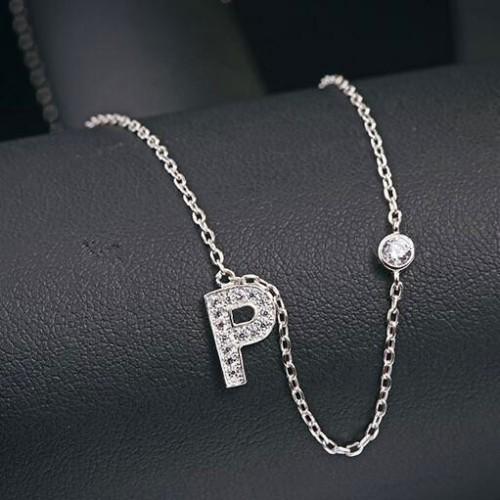 silver necklace MLA622P
