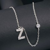 silver necklace MLA622Z