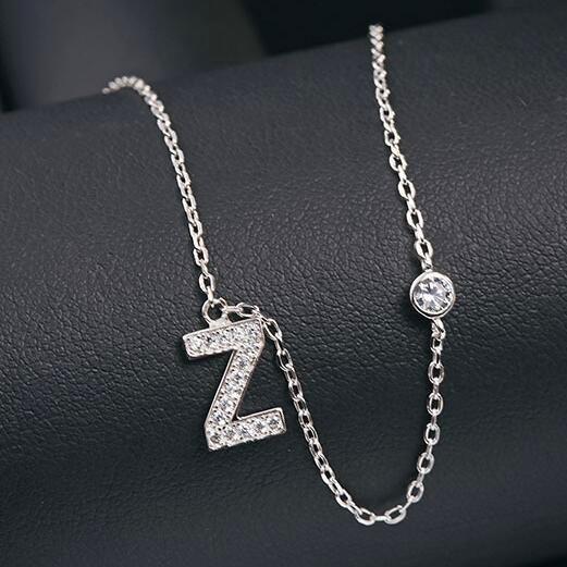 silver necklace MLA622Z