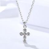 Silver Cross necklaceMLA1045