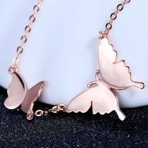 silver necklace MLA482a