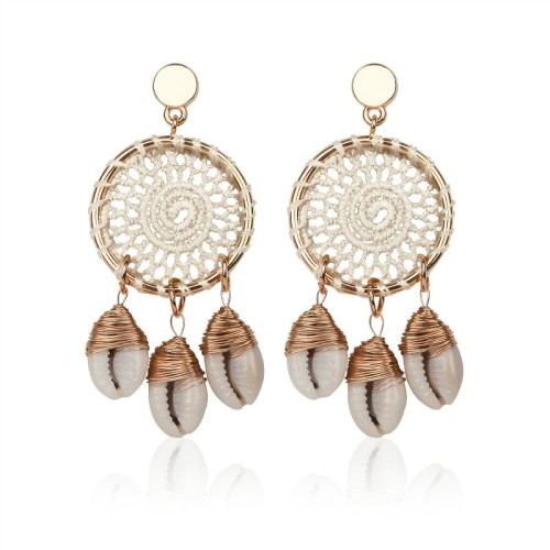Dream catcher earrings ME68538