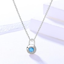 silver necklace MLA023-1