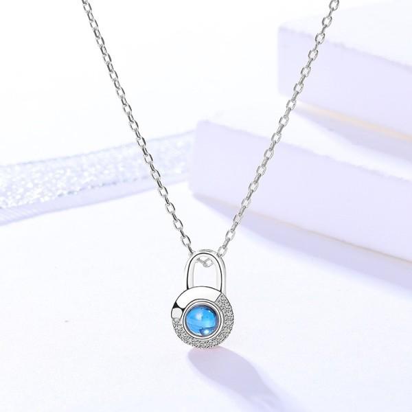 silver necklace MLA023-1