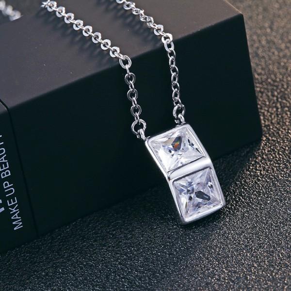 silver necklace MLA615