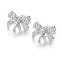 Bow Pearl Earrings gb0619025