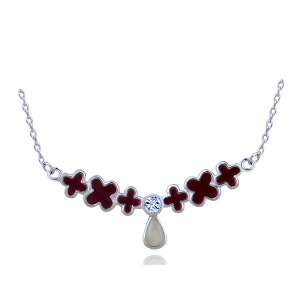 silver necklace H30471