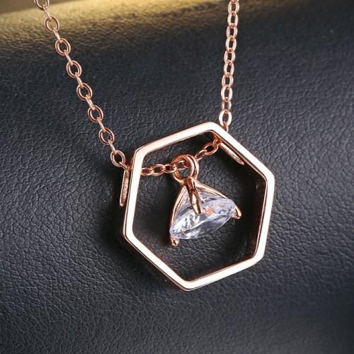 silver necklace MLA702a