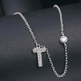 silver necklace MLA622T