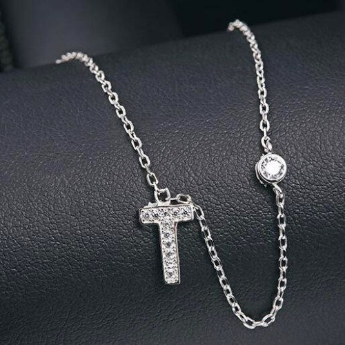 silver necklace MLA622T