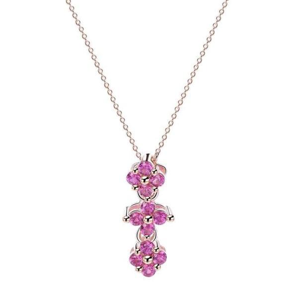 Silver clover necklaceMLA1081