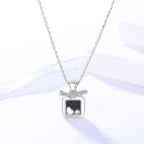 silver necklace MLA696-1