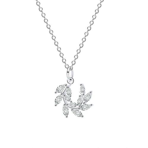 silver necklace MLA678