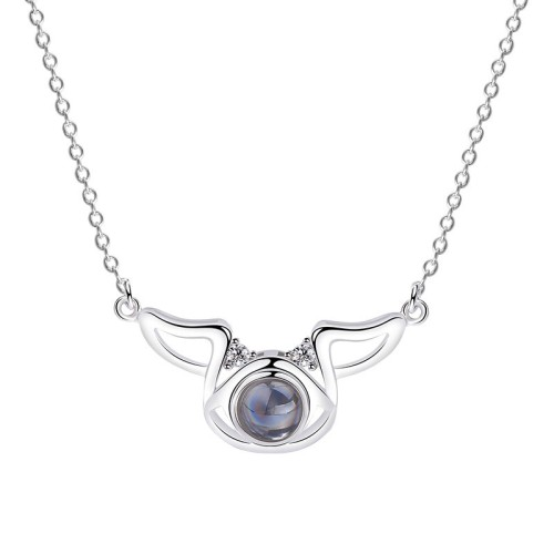 Silver Zodiac Necklace MLA318a