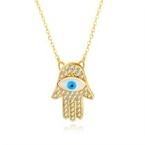Eye palm necklace gb0619458