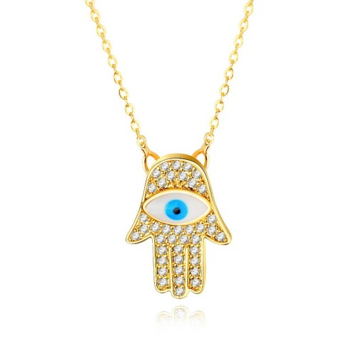 Eye palm necklace gb0619458