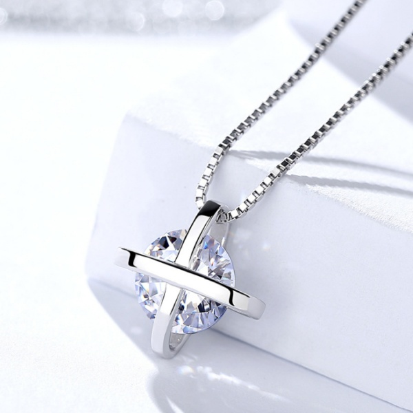 Silver Cross necklaceMLA1058