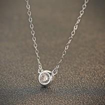silver necklace MLA737